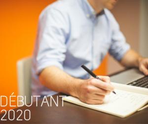 débutant 2020