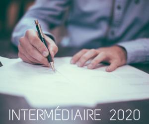 intermédiaire 2020
